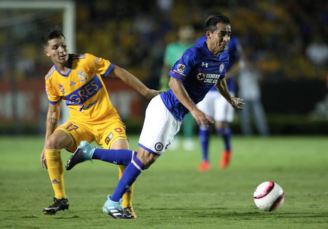 Tigres empató 1-1 con Cruz Azul