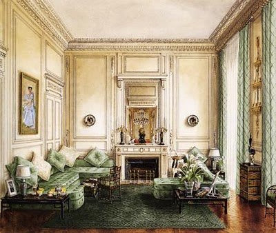 The Banquette Room Designed By Stephane Boudin For Duke And Ss Of Windsor S Home At 24 Boulevard Suchet Paris