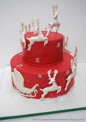 Accidental Wonderland: Piquing My Pinterest Christmas Cake ...