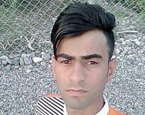 جوان بلوچ به نام حسین ملاحی