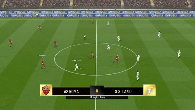 PES 2017 Scoreboard Versi FIFA 18 Ultimate Team
