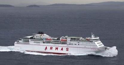 Ferrybalear naviera armas pone a la venta las plazas de for Horario oficina naviera armas las palmas
