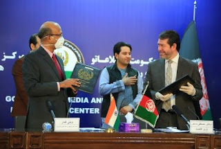 India and Afghanistan signs 5 Agreements