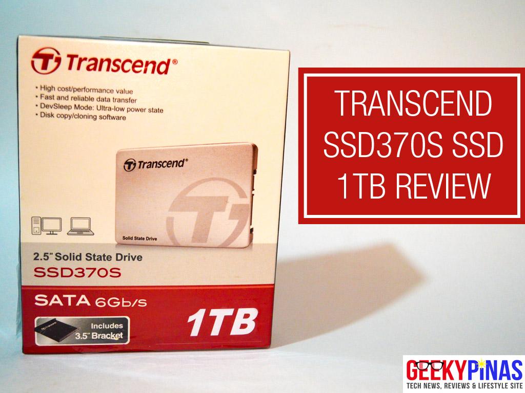 Transcend SATA III 6Gb/s SSD370S SSD (1TB)