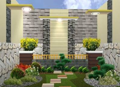 Contoh Desain Taman Rumah Minimalis Terindah