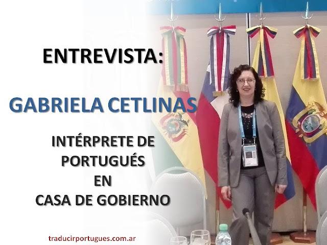 Traductores de portugués, intérprete de portugués, Gabriela Cetlinas