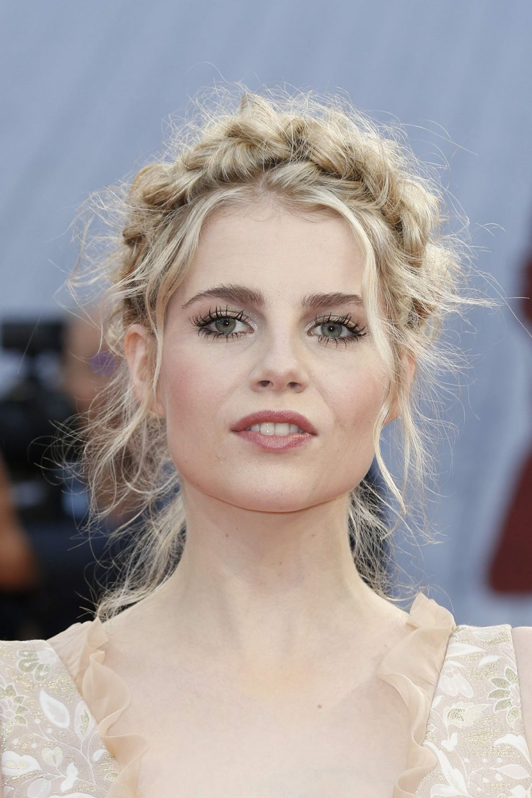 HQ Photos of Lucy Boynton at Indubious Battle Premiere at 42th Deauville American Film Festival