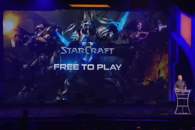 Yah sekarang Blizzard Resmi Umumkan StarCraft  Blizzard Resmi Umumkan StarCraft 2 Menjadi Game Free to Play