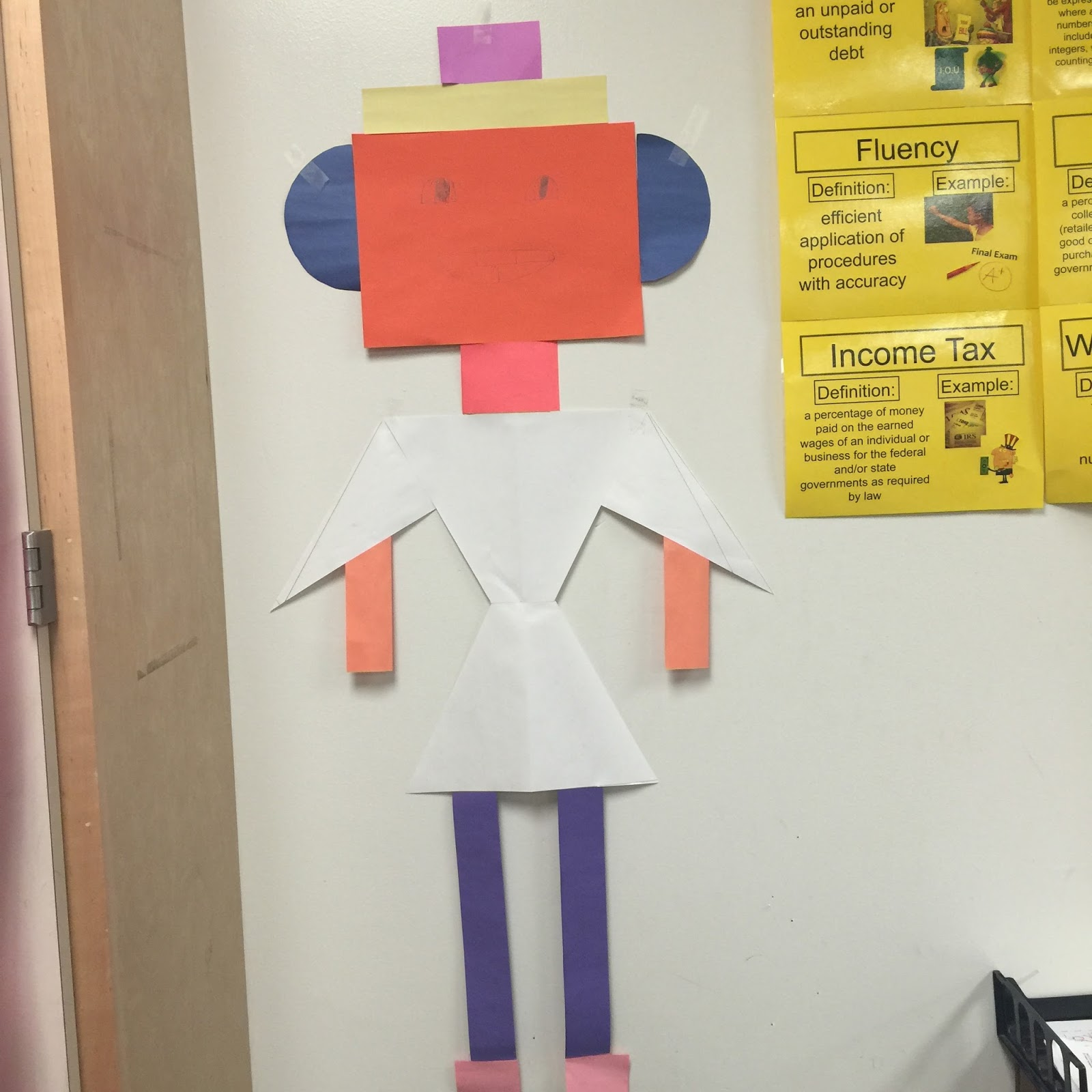 My Math Imagination: Life Size Composite Figures