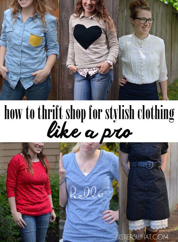 how to thrift shop for clothes like a pro. Get good quality clothes and be prepared with a list of what I want.