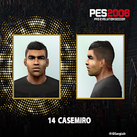 PES 6 Faces Casemiro by El SergioJr