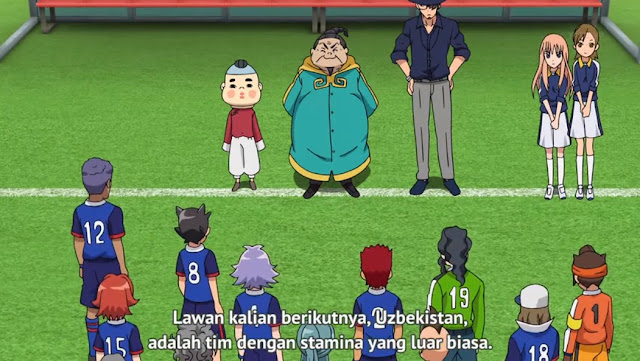 Inazuma Eleven: Orion no Kokuin Episode 8 Subtitle Indonesia