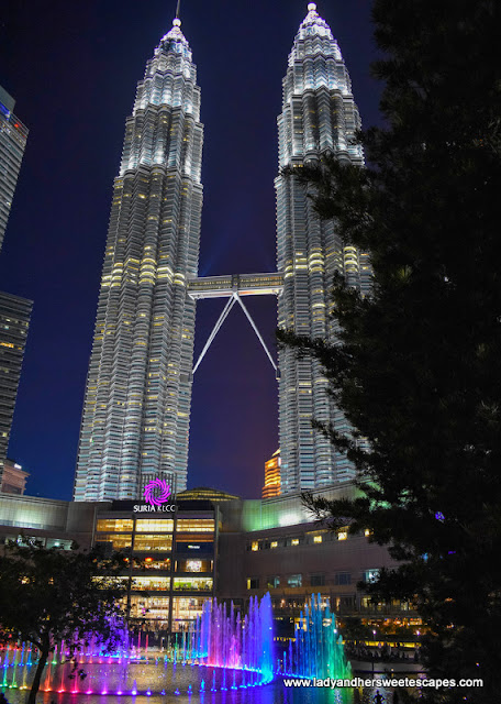Lake Symphony and The Petronas