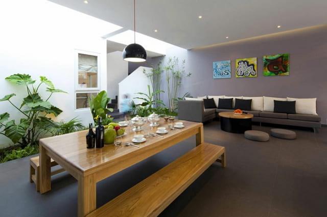 gambar tanaman hias ruang makan