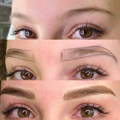 Eyebrow micropigmentation