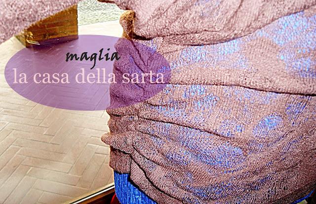 modelli maglia pizzo la casa della sarta