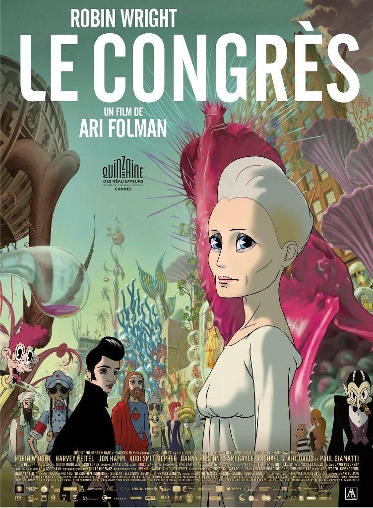 Affiche française du film Le Congrès, de Ari Folman (2013)