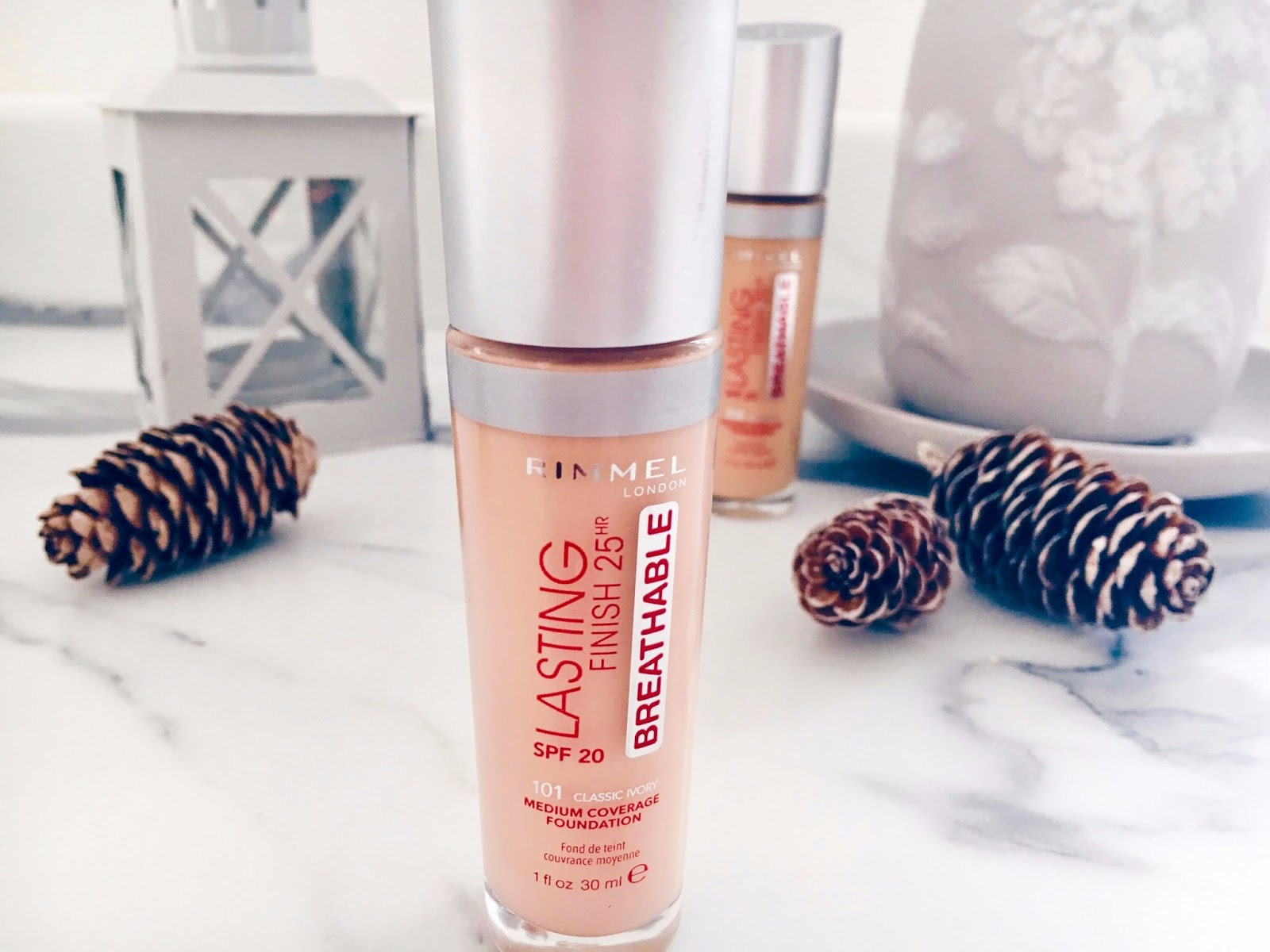 Rimmel Lasting Finish Breathable Foundation - My Holy Grail Base Review