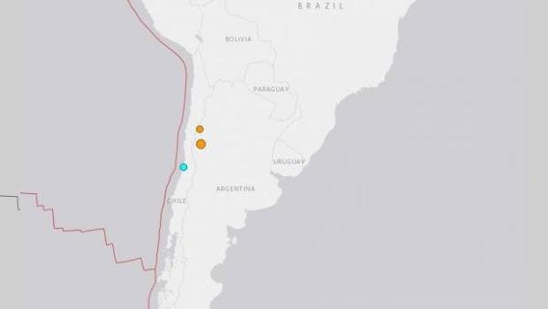 Sacude a Chile sismo de magnitud 5.0 en la escala de Richter