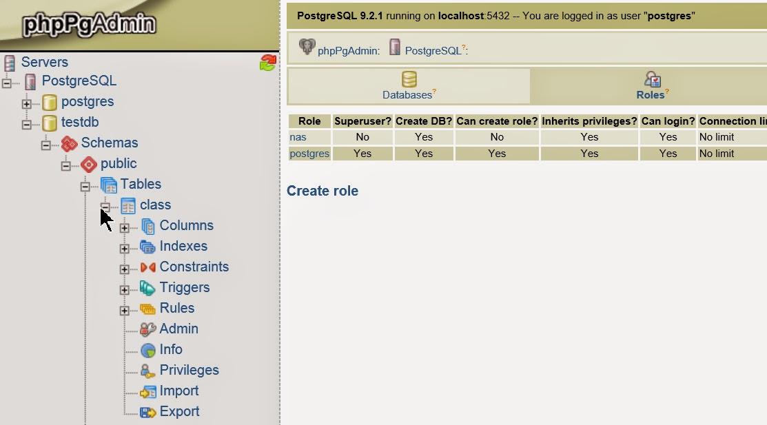 iLearnBlogger: QNAP/Linux Tool - PostgreSQL / phpPgAdmin