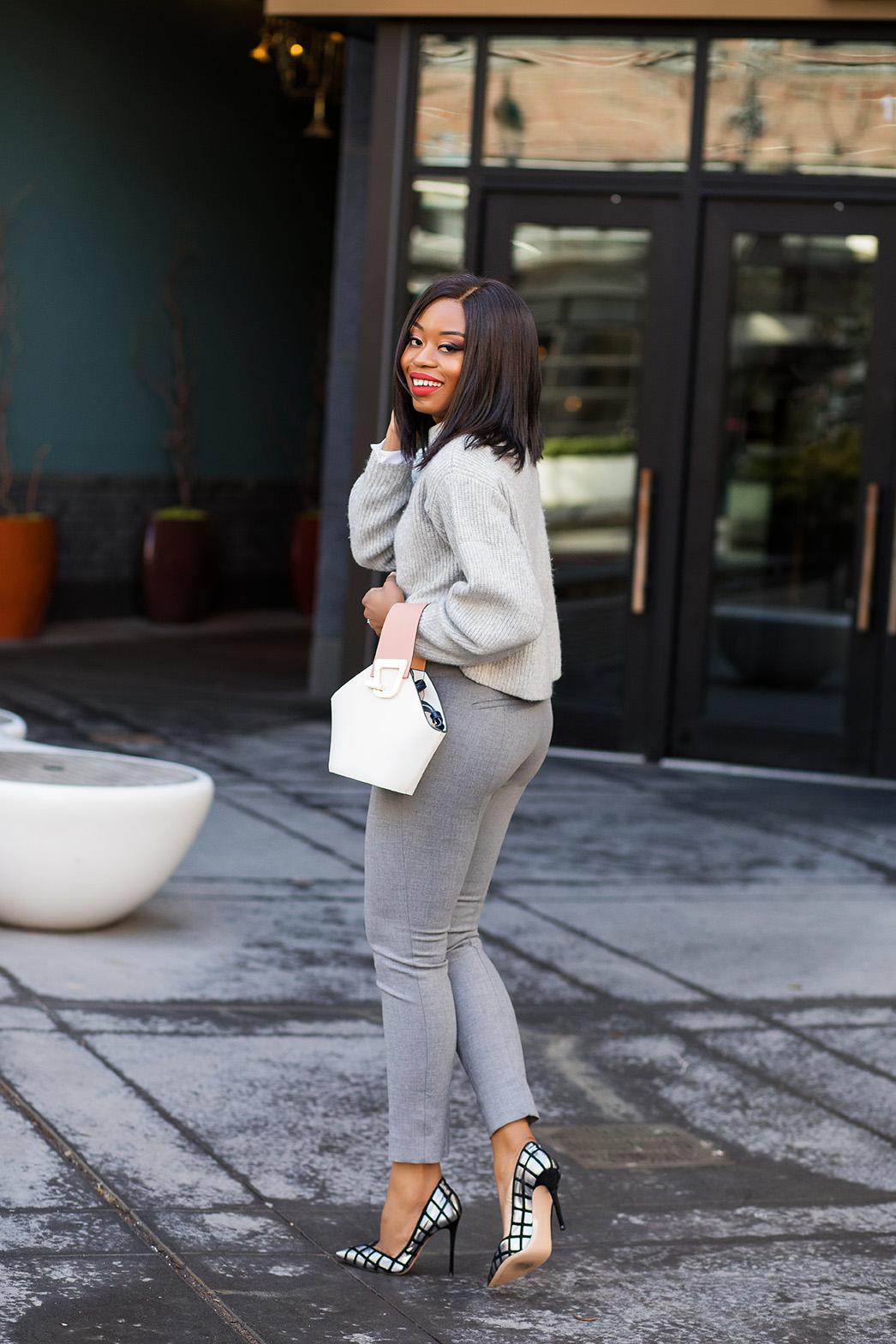 Work style, shade of grey, www.jadore-fashion.com