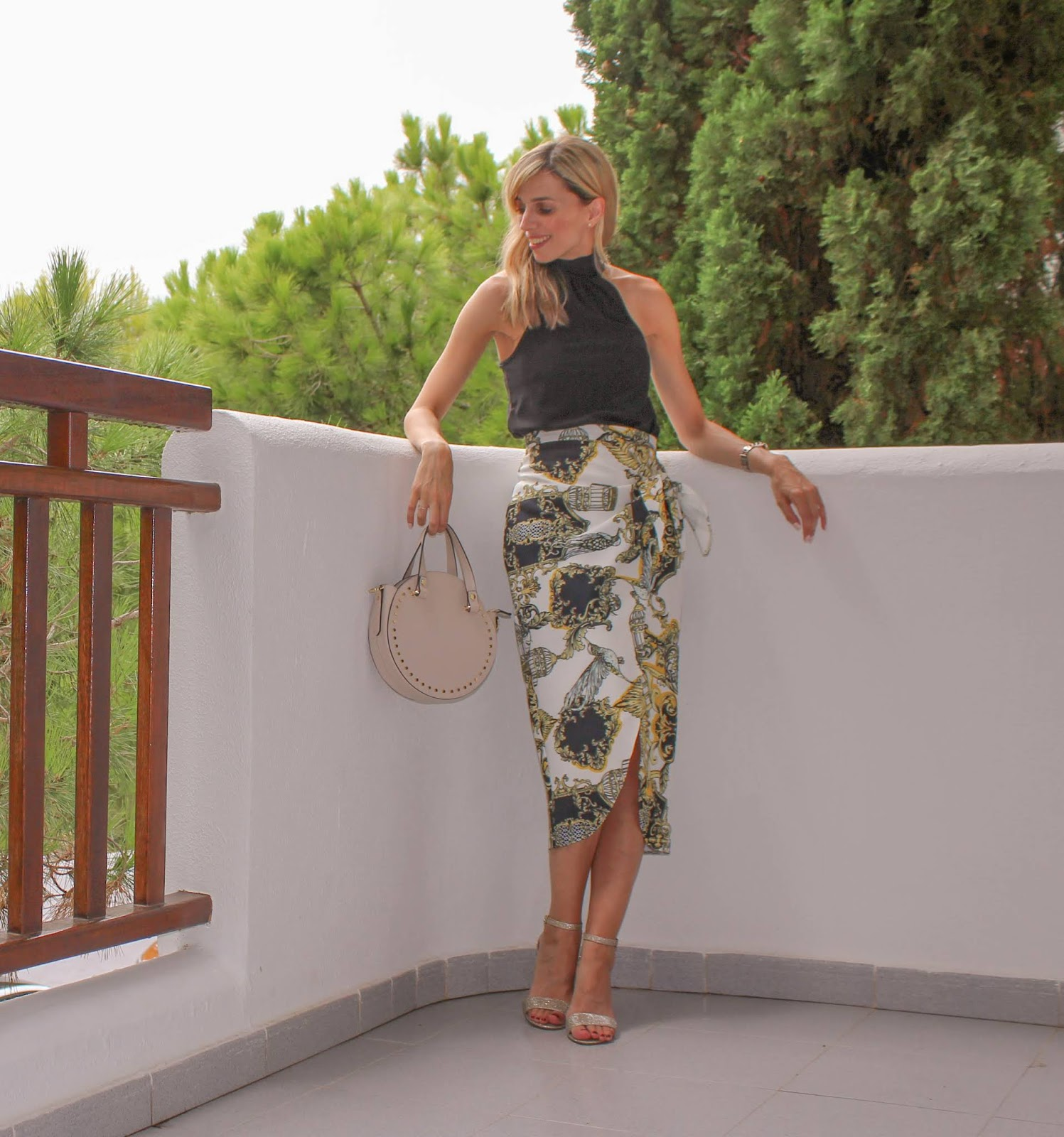 Why The Wraparound Midi Skirt Is My New Night Out Staple