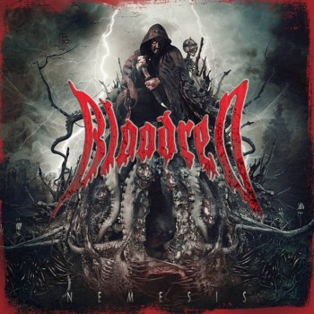 Detail from Bloodred New Album, Nemesis, Detail from Bloodred New Album Nemesis