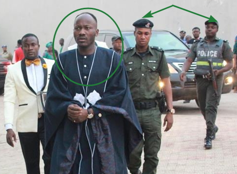 apostle suleman police escorts body guard