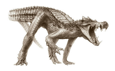 Fossil hunters unearth galloping, dinosaur-eating crocodiles in Sahara
