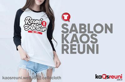 Update Desain & Gallery Sablon Kaos Reuni Online - KaosReuni.web.id