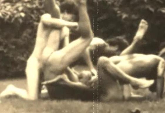 wrestling vintage nude