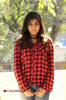 Actress Hebah Patel Stills in Blue Denim Jeans at Nanna Nenu Naa Boyfriends Movie Success Meet  0042.JPG