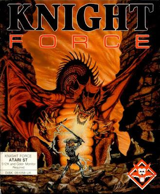 Portada videojuego Knight Force