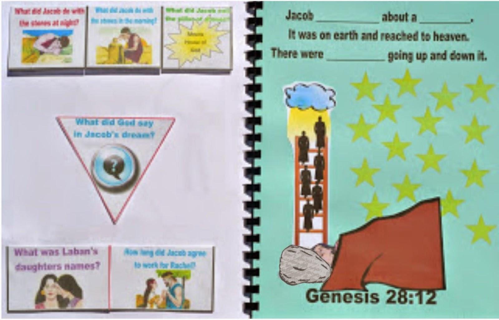 Bible Fun For Kids Genesis Jacob S Ladder