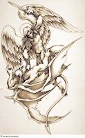 ангел во плоти фото тату