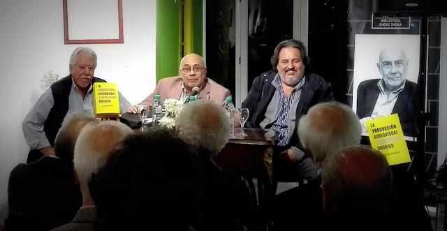 """Puenzo y Rovito presentaron """"La producción audiovisual y su respaldo jurídico"""" el nuevo libro de Raffo"""