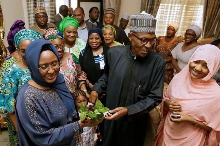 Buhari and aiasha