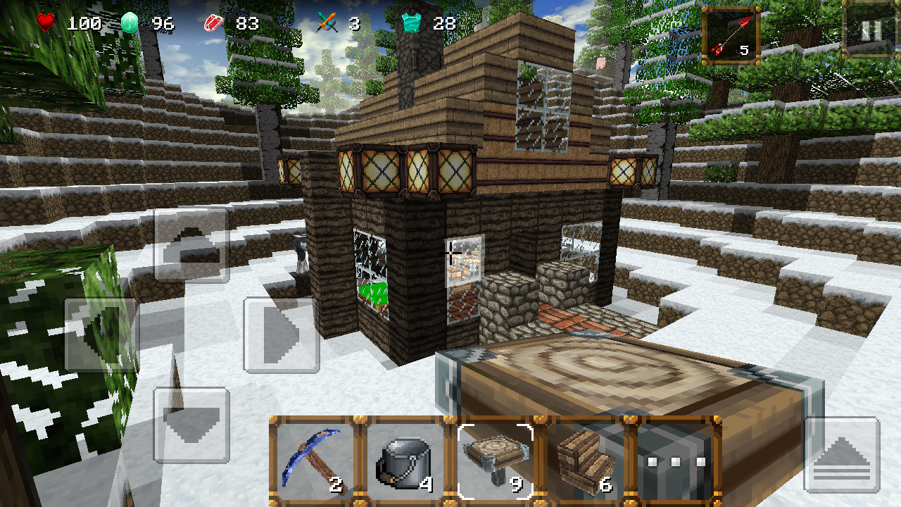 my craft game winter craft 3 mine build apk for free 2526