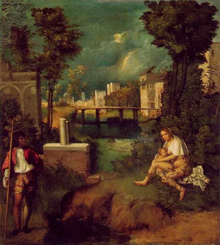 Giorgione Et Al Giorgione Marian Symbols In The Tempest