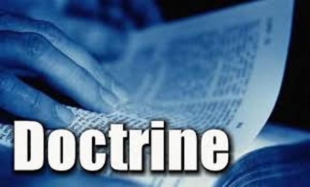 Doktrin/Doctrine (Pendapat Sarjana Hukum)