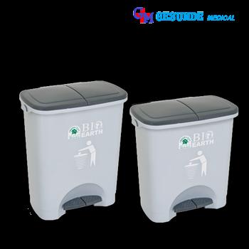 Kotak Sampah Plastik 2 Bagian | BIO Dustbin