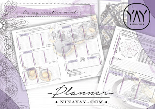 PRINTABLE BULLET JOURNAL PAGES - ONLY NOW FOR FREE - Bonus for THE HIGHLIGHTS - #Life-planner | #printable comprehensive life #planner and bullet journal for 2016, 2017, 2018, 2019, 2020, 2021, 2022, any year planner. Reach your goals and enrich the life with it. Best organizer You will ever find. To-do & shopping lists, schedules, new years resolutions, self reflection sections, personalized pages and much more! Stay perfectly #organized and go for Your dreams. For more follow www.pinterest.com/ninayay and stay positively #inspired.