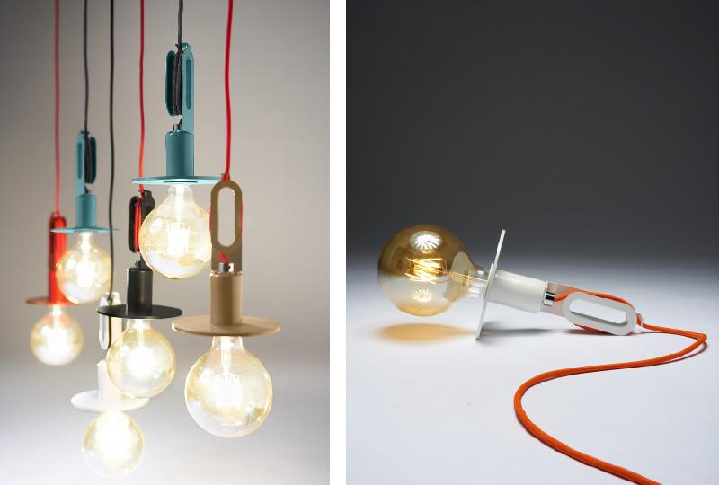 lampada di design Drivos Naked