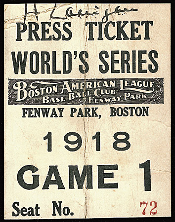 Image result for 1918 world series