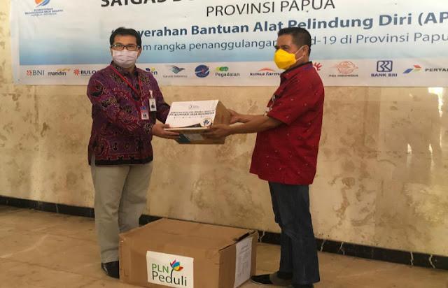Pemprov Papua Terima Bantuan Alkes Alkes Sebesar Rp150 Juta dari BUMN