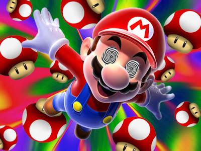 Mario Bros, consumidor de setas