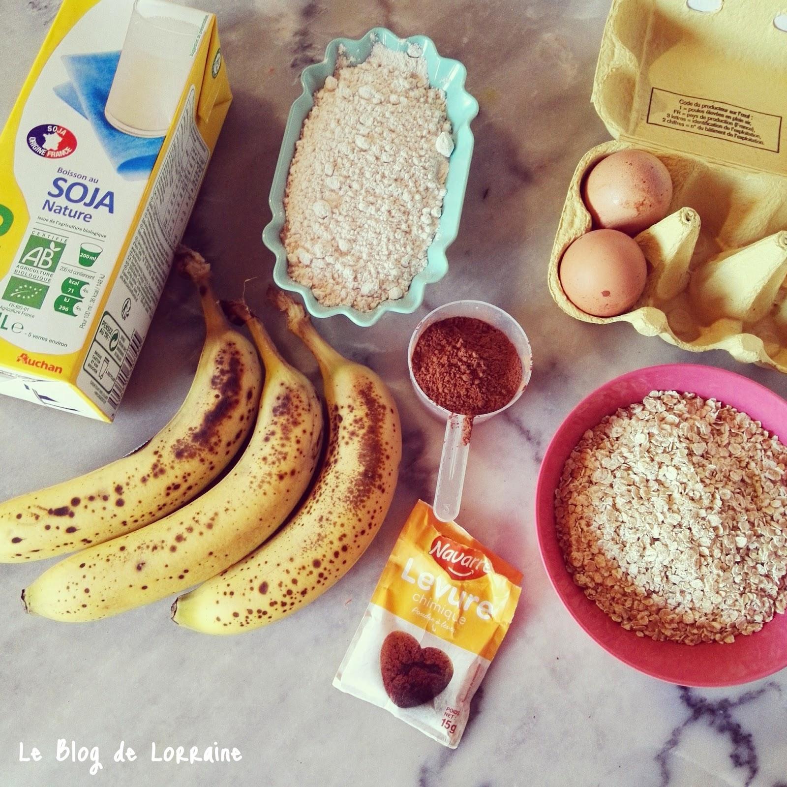 Recette Cake Banane Huile De Coco Sucre Complet