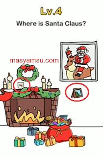 Kunci Jawaban Brain Out Sinterklas dari level 1 sampai 10 yang berkaitan dengan Santa Klaus atau Sinterklas.