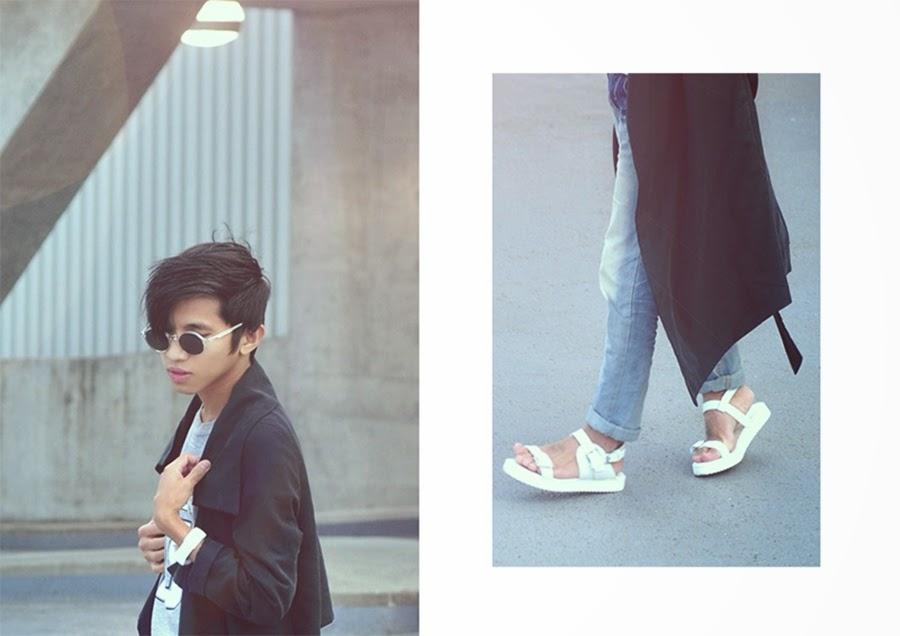 sandalen sonnenbrille style