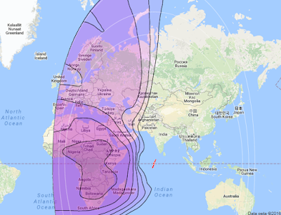 Satelit Intelsat 22 72.1°E CBand